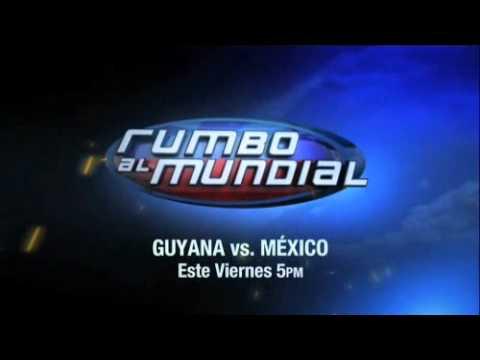 Rumbo al Mundial Guyana vs México