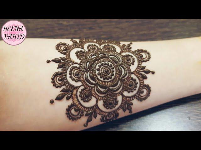Henna tattoo for hand #1 | heena vahid