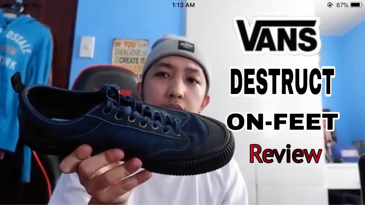 vans destruct sf review