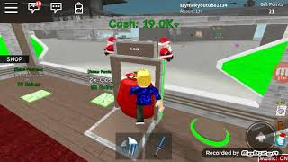 It builds the factory of St. Nicholas in Roblox!? (Hristmas tycoon)