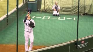 埼玉西武ライオンズ 野上亮磨 投球練習