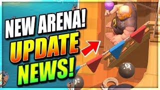 *NEWS* New Pirate Arena Revealed!? Royale Pass Season 1!? Update News Clash Royale