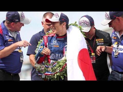 Takuma Sato Becomes the First Japanese Driver to Win the Indy 500
