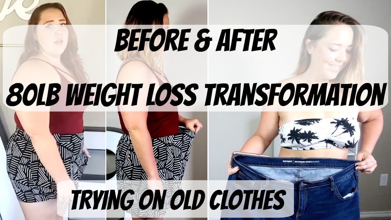 Weight Loss Motivation Before & After 80lb Weight Loss ...