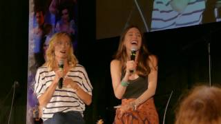 Victoria Smurfit and Jaime Murray panel OUAT Chicago 2017 Part 3
