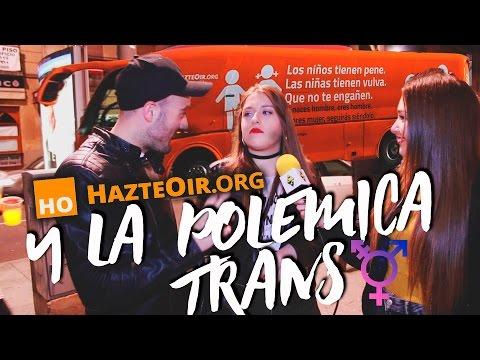 HAZTE OÍR Y LA POLÉMICA TRANS