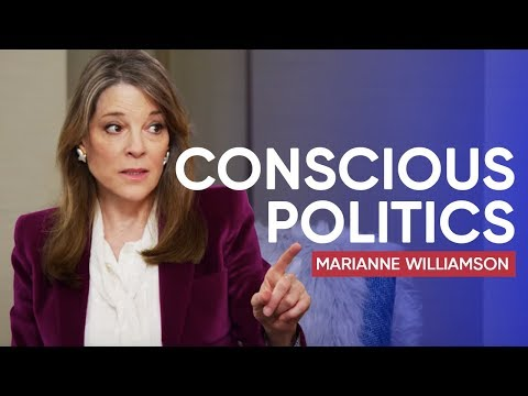 Marianne Williamson on How to Bring Consciousness to Politics Internationally-acclaimed activist and author Marianne Williamson believes it's time to harness our greatest powers and truth to uplift humanity. In fact, that ..., From YouTubeVideos