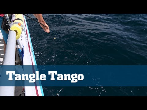 Florida Sport Fishing TV - Rigging Station Tips To Reduce Tangles Long Range Deep Drop Trips