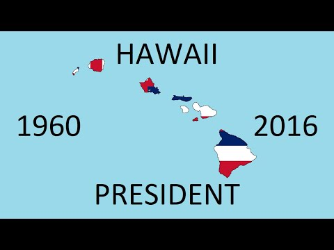 Hawaii Presidential Election Counties