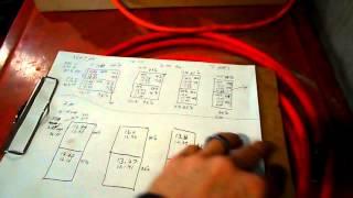 Amateur Battery Bank Test 2:   10ga VS 2ga  in 24 volt system