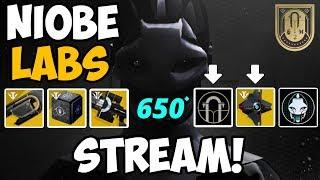 Destiny 2 | Niobe Labs Stream! w/ Pause Reset Play! Today We Beat it! Discussing Vidoc!