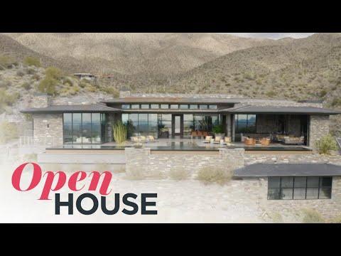 An Airy Retreat In The Arizona Desert | Open House TV