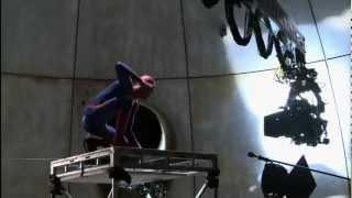 Видео со съёмок фильма The Amazing Spider Man. Часть 3.