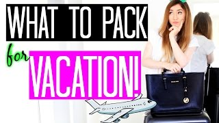 KOFFER & HANDGEPÄCK RICHTIG PACKEN - Travel Hacks, Checkliste, Reise Routine & Outfit | Rebekah Wing