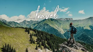 Orange Teal Travel Video LUTs, Lightroom Presets and Transitions | LUTs With Skin Tone Protection