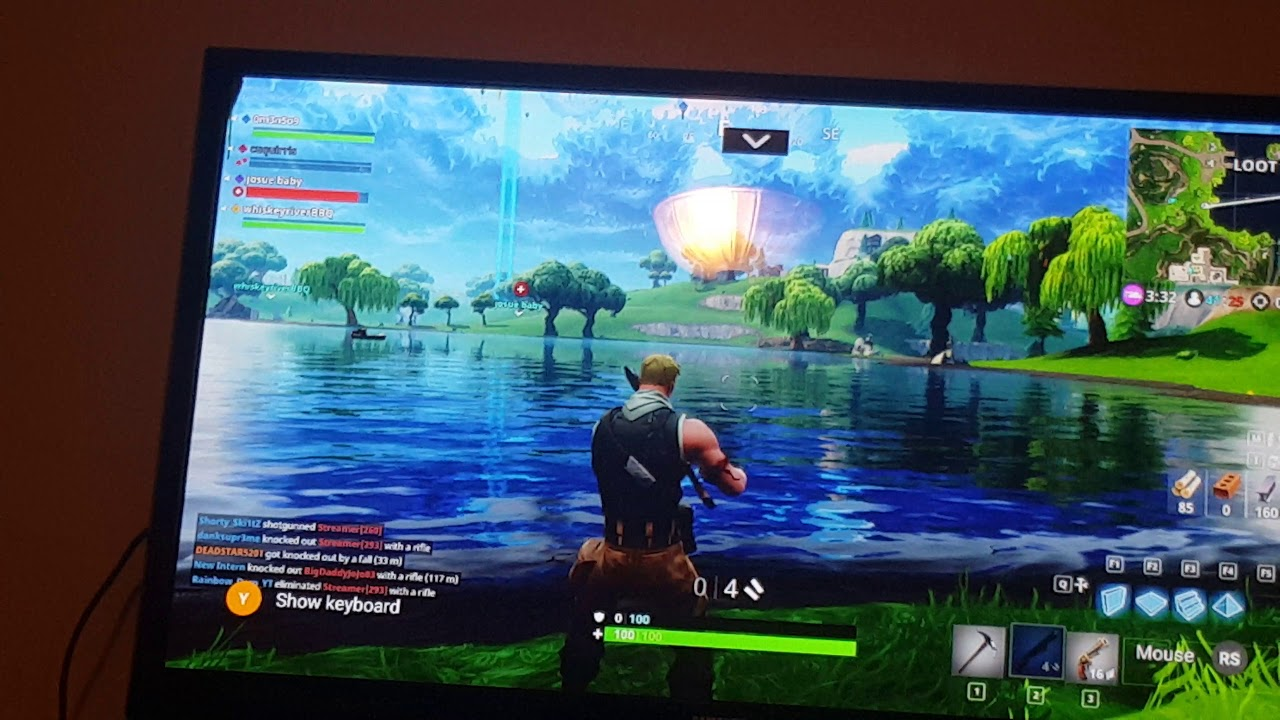 Testing fortnite on Nvidia shield without computer