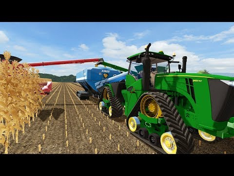 FARMING SIMULATOR 2017 | THE NEW JOHN DEERE 9RX DEMO | SATURDAY AM FARMING | EP# 17