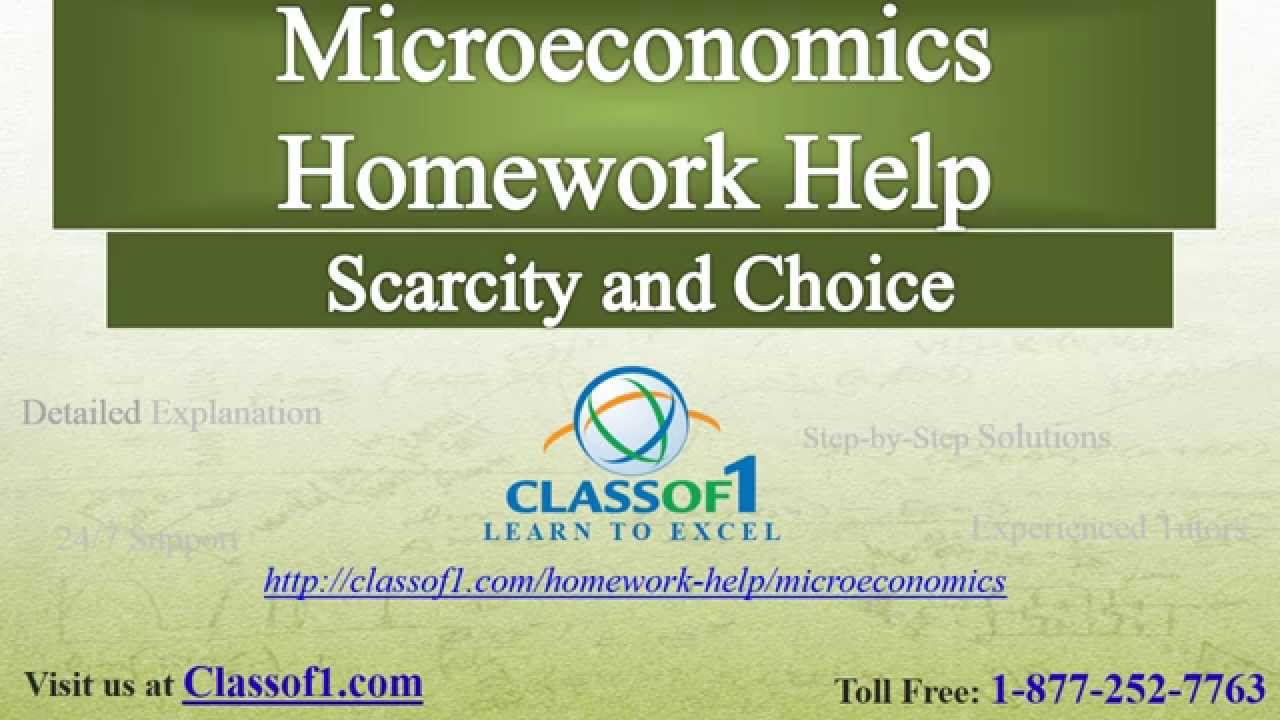 microeconomics gs assignment one