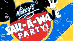 Mickey's Sail A Wave! Family Deck Party -  Disney Cruise Line