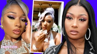 Megan Thee Stallion cries while addressing the Tory incident