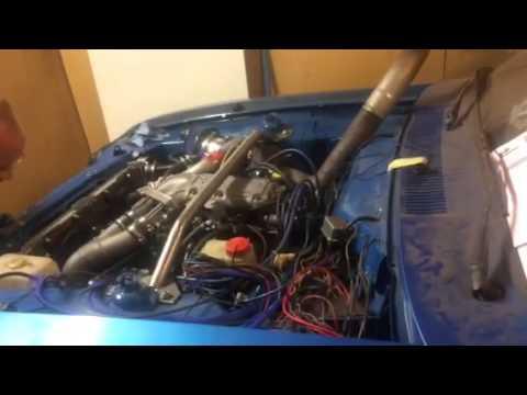Ford Capri Cologne 2.9 V6 turbo start up