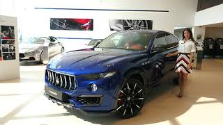 аВИЛОН представляет Maserati Levante. Обзор первого внедорожника