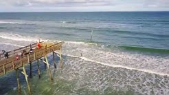 Sunglow Pier at South Daytona Beach by Drone