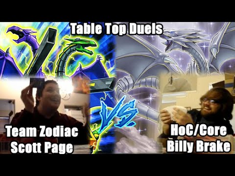 HoC Table Top Duels - Billy Brake (Blue Eyes) Vs Scott Page (ABC)