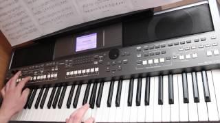 Виктор Цой Когда твоя девушка больна на синтезаторе Yamaha PSR S670 Cover