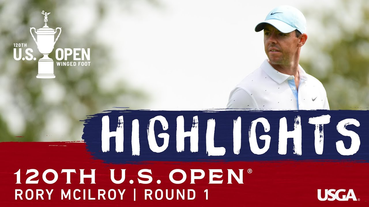 2020 U.S. Open, Round 1: Rory McIlroy Highlights
