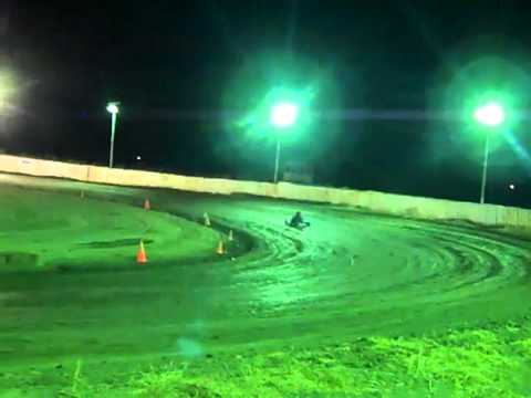 Flat karts at Cora Speedway