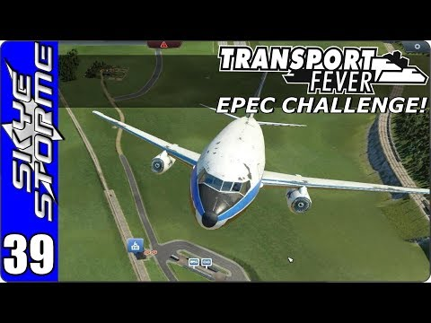 Transport Fever Let's Play/Gameplay - EPEC Challenge Ep 39 - DUCK!