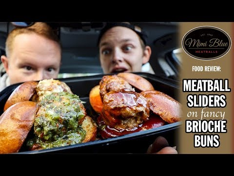 Mimi Blues Meatball Sliders Food Review | Road Trip to Indianapolis