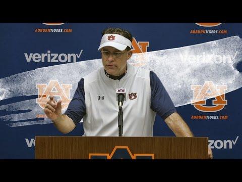 Hear what Malzahn said after Auburn's trouncing of Ark. State