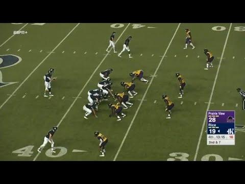 Prairie View A&M vs Rice 2018 Highlights