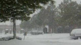 Snow in Southaven, Mississippi......Again! Thumbnail