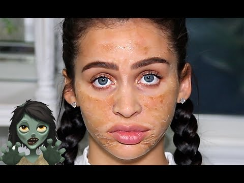 75982ab24 TRYING THE WORLDS SCARIEST FACE MASK! | Carli Bybel - YouTube | Bloglovin'