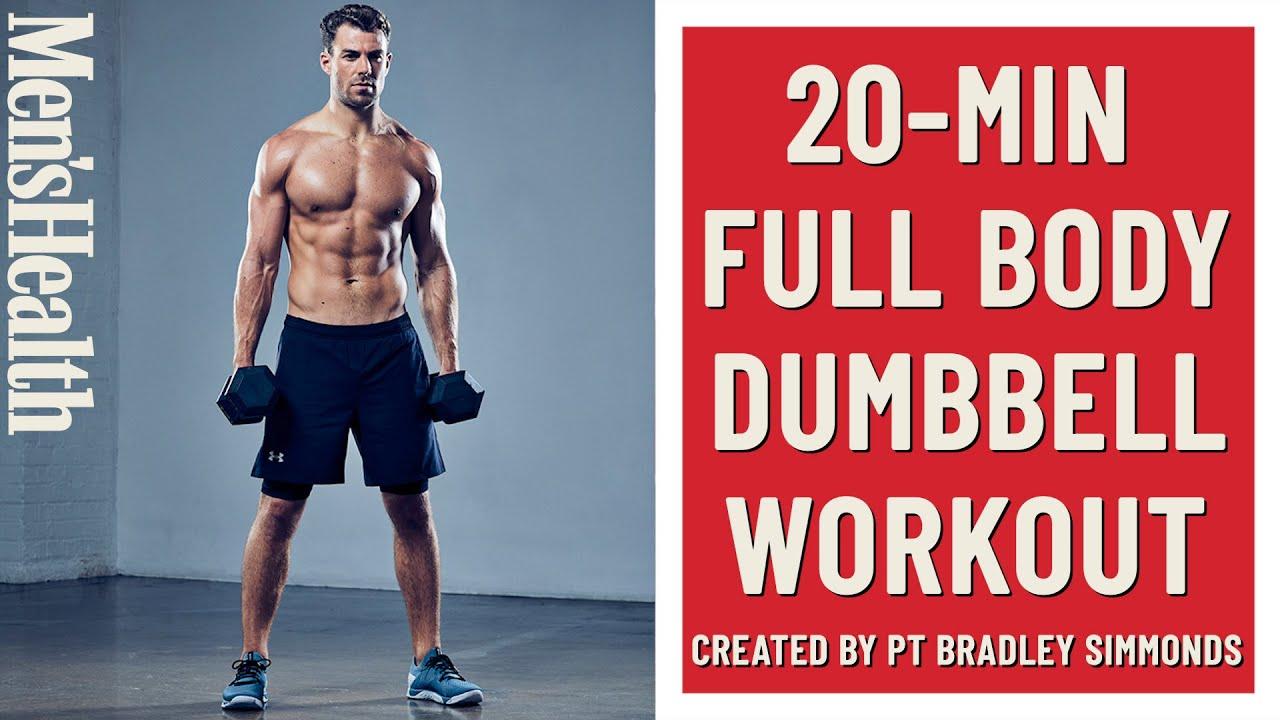 20-Minute Full Body Workout (Dumbbell Only) | Men's Health UK