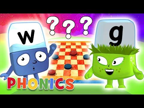 Phonics - Learn To Read | Word Games! | Alphablocks