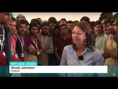 Greece sends 'economic migrants' back to Turkey, Nicole Johnston reports from Kirklareli
