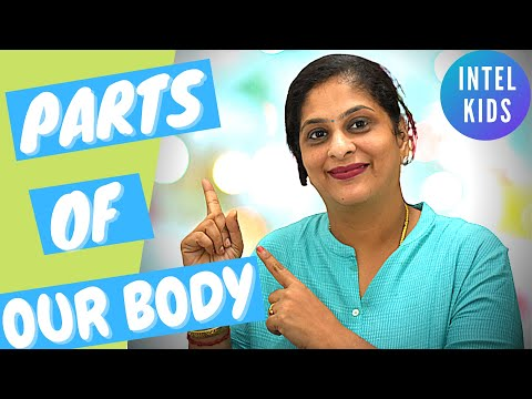 How To Teach Kindergarten Kids | Body Parts for Kids | Learn Parts of the Body Rhyme | Learn English
