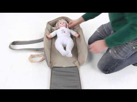 Переносная люлька для новорожденных Globex Кокон