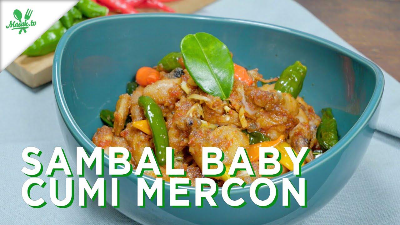 Sambal Baby Cumi Mercon