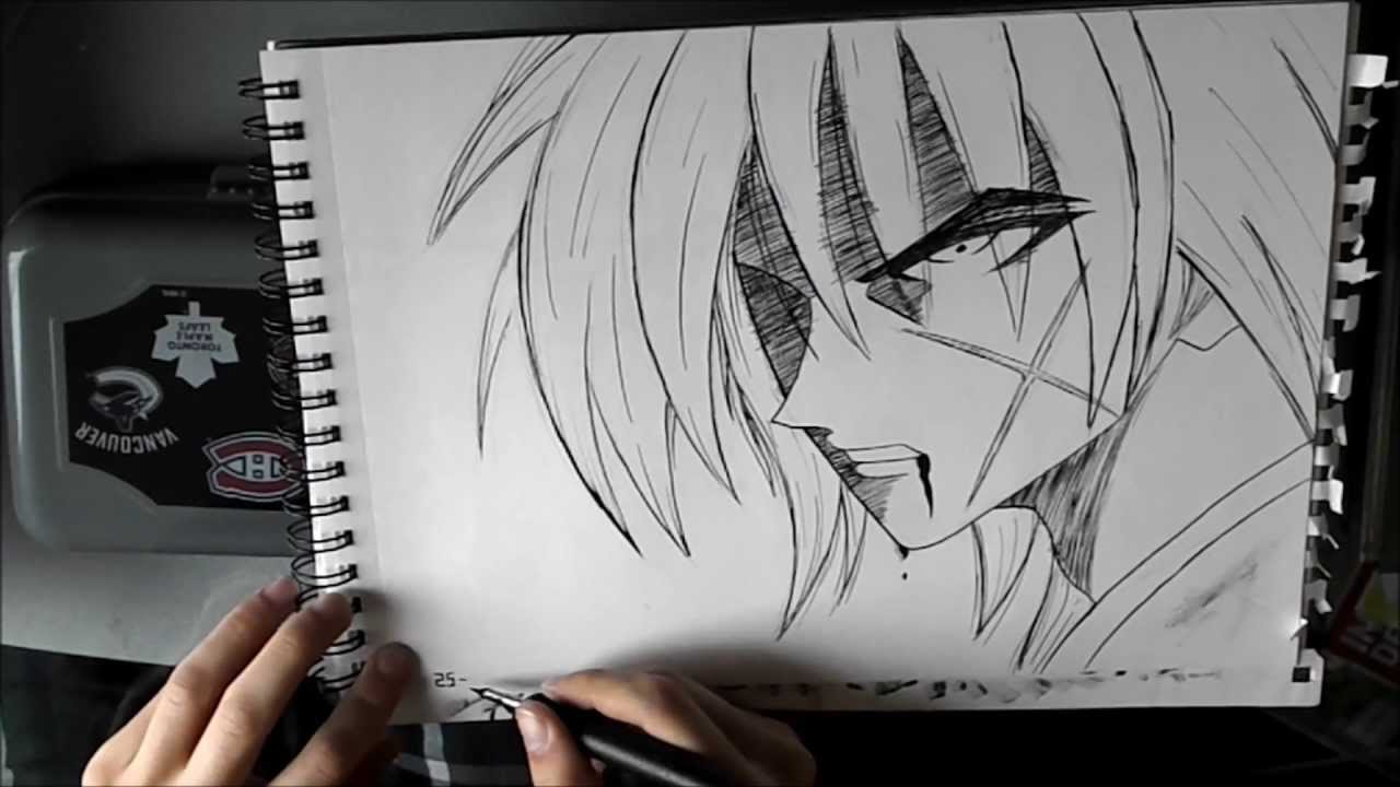 Kenshin How To Draw Comment Dessiner