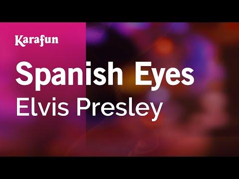 Karaoke Spanish Eyes  Elvis Presley *