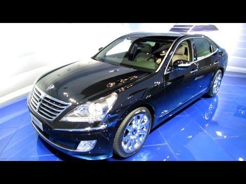 2013 Hyundai Equus Exterior and Interior Walkaround 2012 Los Angeles Auto Show