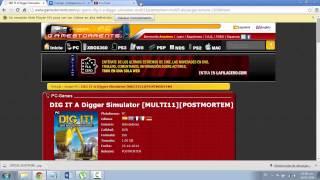 DIG IT A Digger Simulator [Español PC] 1 link