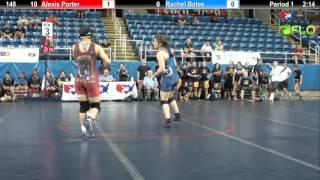 Championship 148 - Alexis Porter (New York) vs. Rachel Bates (Texas 1)