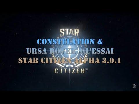 STAR CITIZEN 3.0.1 EP#8 Trip constellation + URSA Rover [FR]