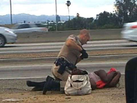 Video of California officer hitting woman sparks outrage